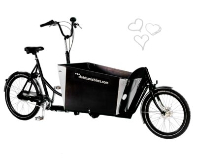 Christiania bikes / 2 Wheeler - zonder deur