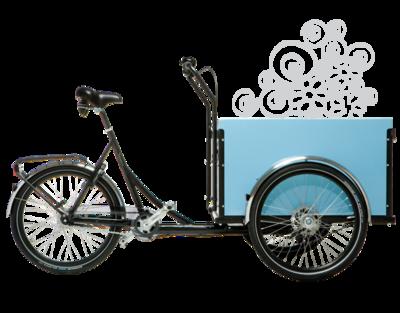 Christiania bikes / Kids Light - Blauw