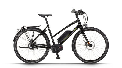 Dutch.id / E-bike - URBAN HS N380 NuVinci - Metallic Black