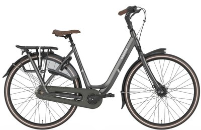 Gazelle / Stadsfiets - ORANGE C8 - Desert titanium grey mat