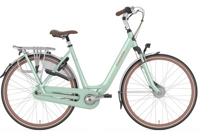 Gazelle / Stadsfiets - ORANGE C7 + // Pale green
