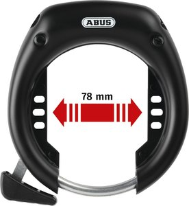 ABUS / Frameslot -  SHIELD 5650 L R black OE
