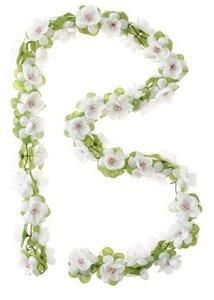 BASIL / Stuurbloemen - GARLAND - White