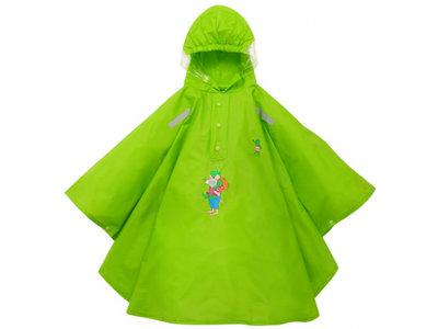 WILLEX / Kids - Kikker regenponcho - Groen  (Kies je maat)