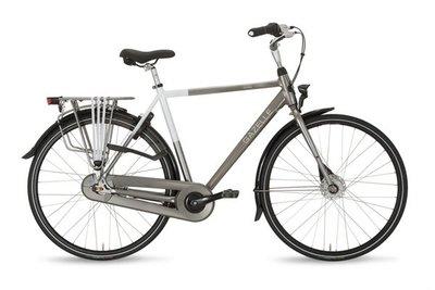 Gazelle / Stadsfiets - PARIS C7 - Window Grey/Premium White